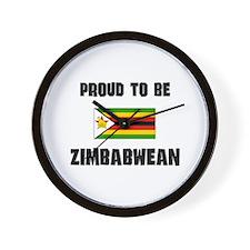 Proud To Be ZIMBABWEAN Wall Clock