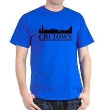 Chicago Skyline Chi Town T-Shirt
