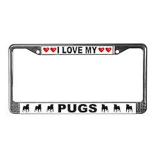 Love/Hearts Pugs