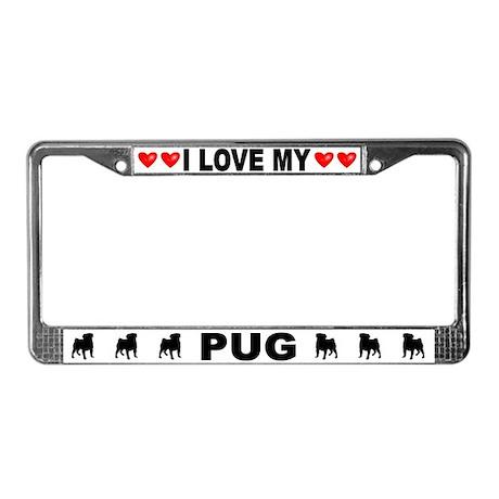 Love/Hearts Pug