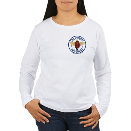 VA-75 2 SIDE Women's Long Sleeve T-Shirt
