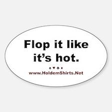 """""""Flop it like it's hot"""" Stickers (Poker)"""
