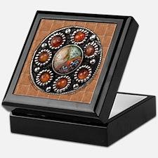 Celtic Pewter, Glass & Gems Keepsake Box
