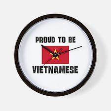 Proud To Be VIETNAMESE Wall Clock