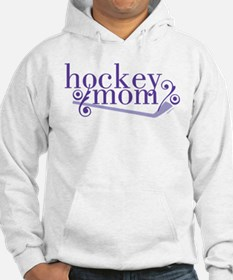 simple hockey mom Hoodie
