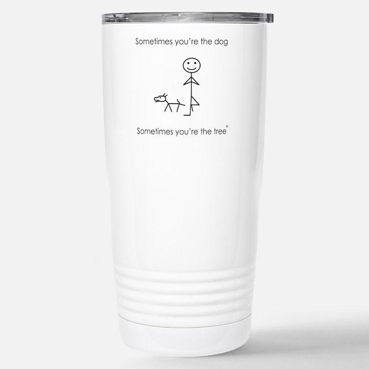 Cute Yoga Travel Mug