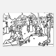 A Sunday Afternoon - Stick Postcards (Package of 8