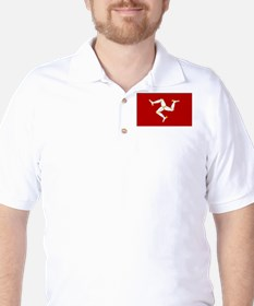 Isle of Man Flag Gear Golf Shirt