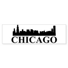 Chicago Skyline Bumper Bumper Sticker