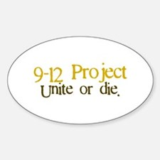 9 12 Project Oval Decal