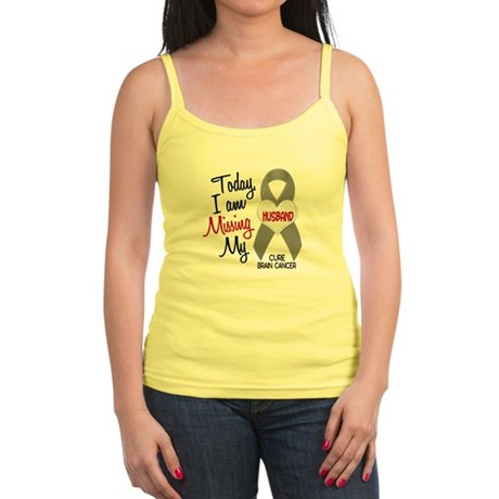 Missing 1 Husband BRAIN CANCER Jr. Spaghetti Tank