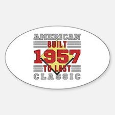 Unique Built Sticker (Oval)