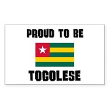 Proud To Be TOGOLESE Rectangle Decal