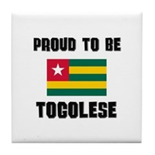 Proud To Be TOGOLESE Tile Coaster