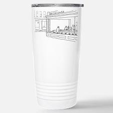 Nighthawks - Stick Stainless Steel Travel Mug