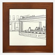 Nighthawks - Stick Framed Tile