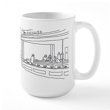 Nighthawks - Stick Large Mug