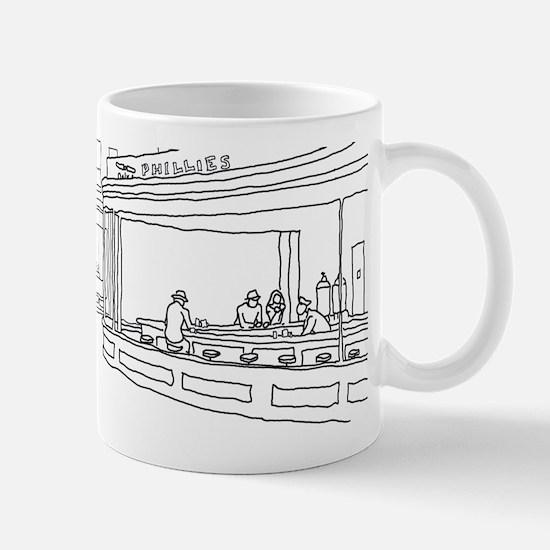 Nighthawks - Stick Mug