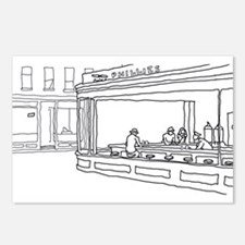 Nighthawks - Stick Postcards (Package of 8)