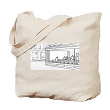 Nighthawks - Stick Tote Bag