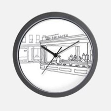 Nighthawks - Stick Wall Clock