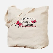 Butterfly Being A Nonni Tote Bag