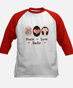 Peace Love Radio Tee