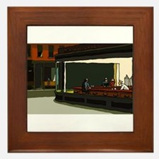 Nighthawks - S.F. Masterpiece Framed Tile