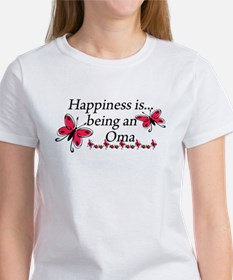 Butterfly Being A Oma Women's T-Shirt
