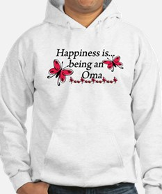 Butterfly Being A Oma Hoodie