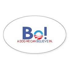 Bo Obama Oval Decal