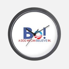 Bo Obama Wall Clock
