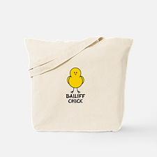 Bailiff Chick Tote Bag