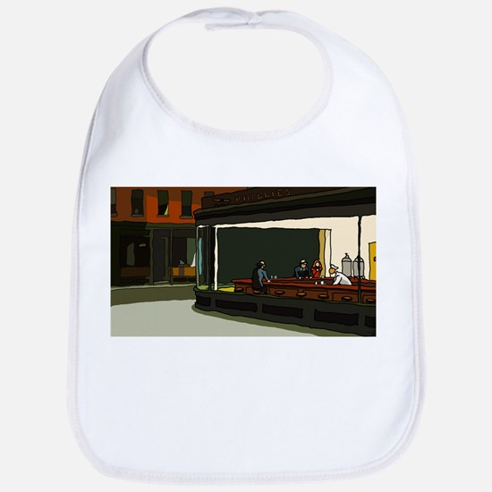 Nighthawks - S.F. Masterpiece Bib