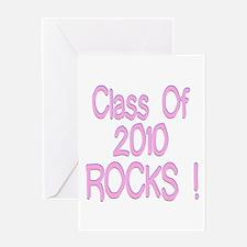 2010-pink Greeting Card