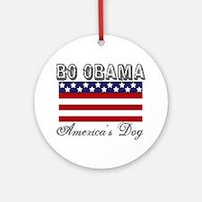 Bo Obama First Dog Ornament (Round)
