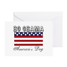 Bo Obama First Dog Greeting Card