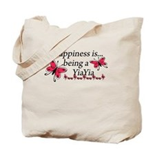Butterfly Being A YiaYia Tote Bag