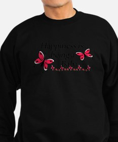 Butterfly Being A Baba Sweatshirt