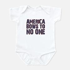 Obama Bow Infant Bodysuit