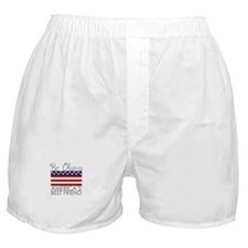Bo Obama Best Friend Boxer Shorts