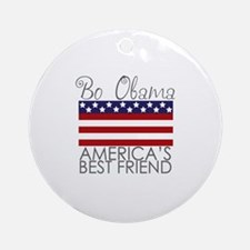 Bo Obama Best Friend Ornament (Round)