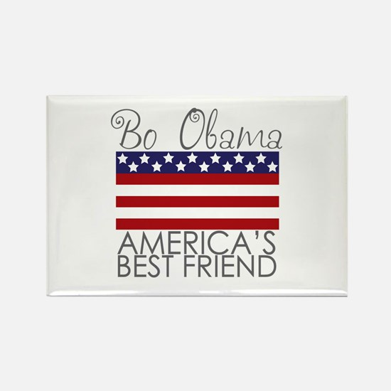 Bo Obama Best Friend Rectangle Magnet (10 pack)