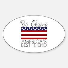 Bo Obama Best Friend Oval Decal