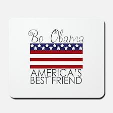 Bo Obama Best Friend Mousepad