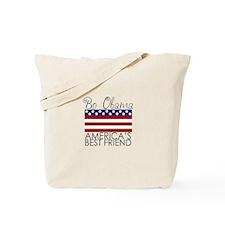 Bo Obama Best Friend Tote Bag