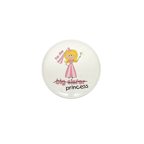 big sister t-shirts princess cross Mini Button