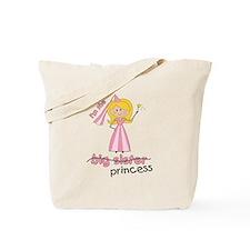 big sister t-shirts princess cross Tote Bag