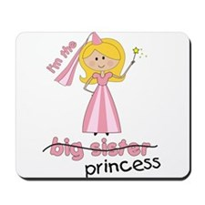 big sister t-shirts princess cross Mousepad