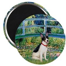 "Bridge / Rat Terrier 2.25"" Magnet (10 pack)"